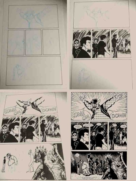 page layout sample