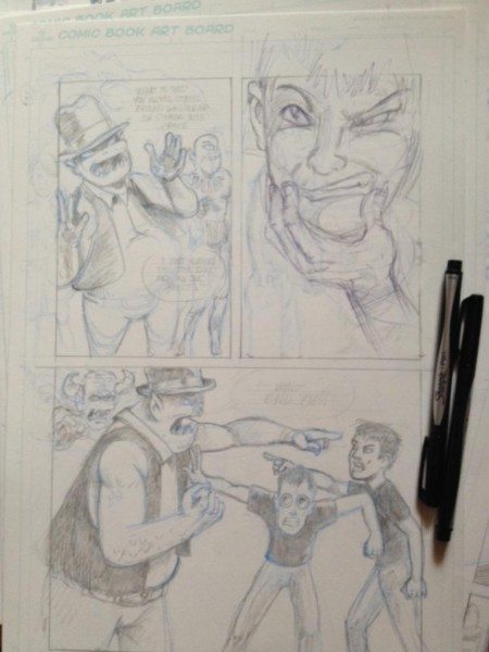 Land of Confusion Pencils.